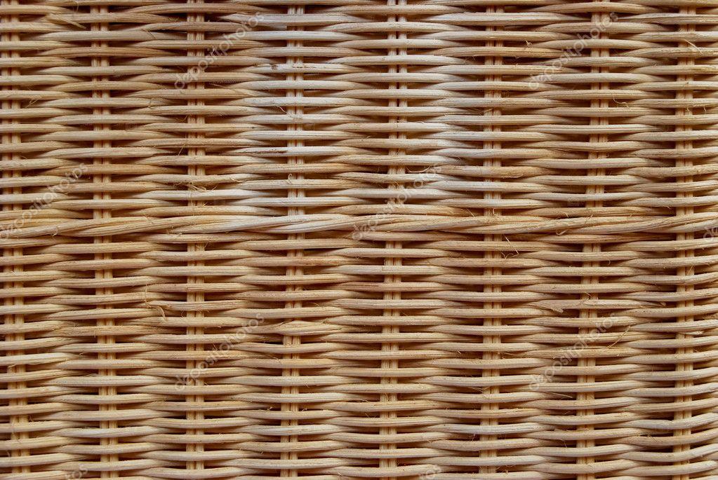 Brown wicker texture pattern background