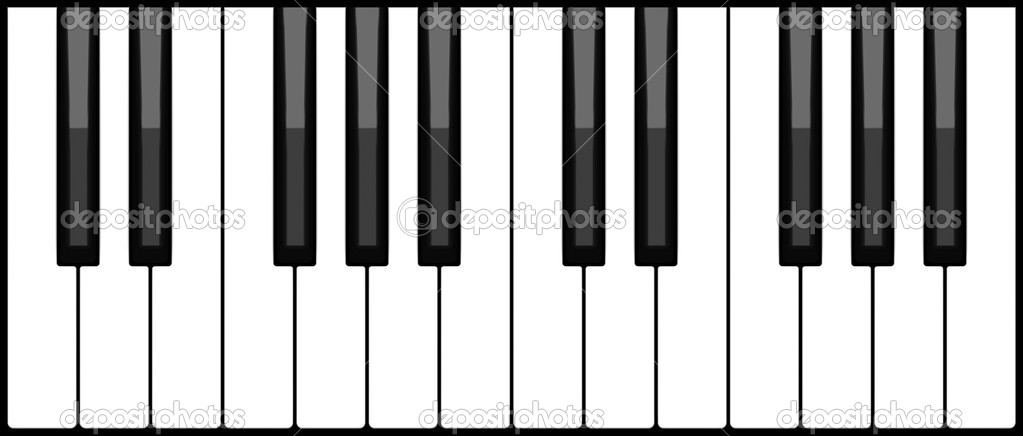 piano keyboard stock photo icefront 4016573