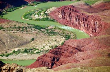 Grand canyon national park colorado river landscape, arizona, us