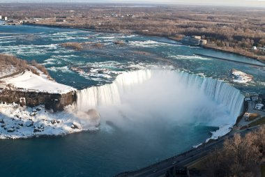Horseshoe Falls (Niagara) From Above in Winter