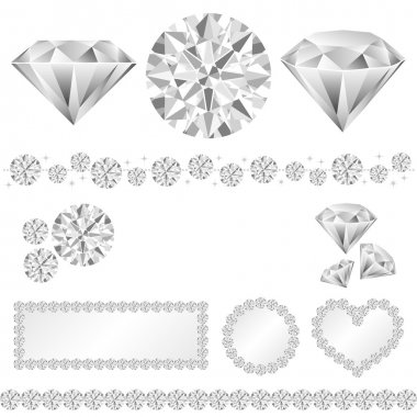 Diamond decoration
