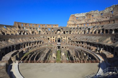 Coliseum inside, Italy, Rome