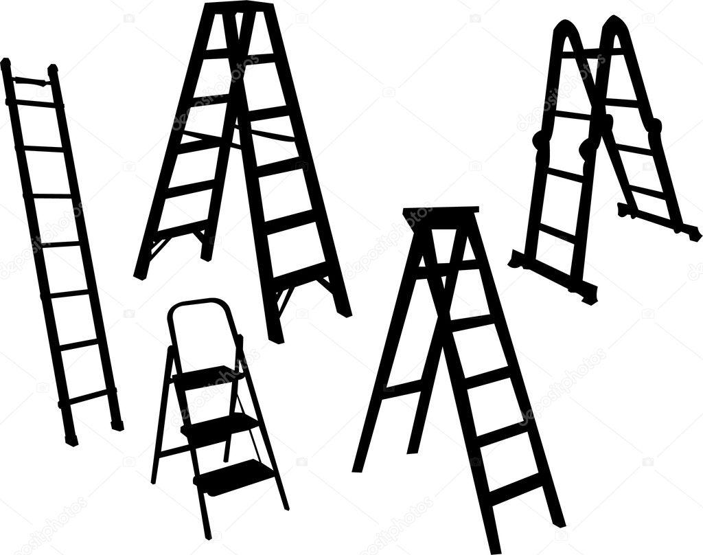 Escaleras de mano vector de stock paunovic 4655162 - Escaleras de mano ...