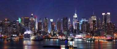 Modern City night scene.
