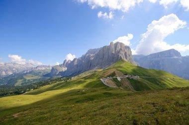 The Sella massif group - Dolomites, Italy