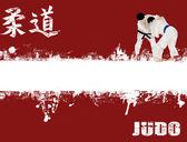 Photo Grunge judo poster