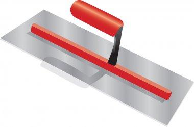 Builders trowel stock vector