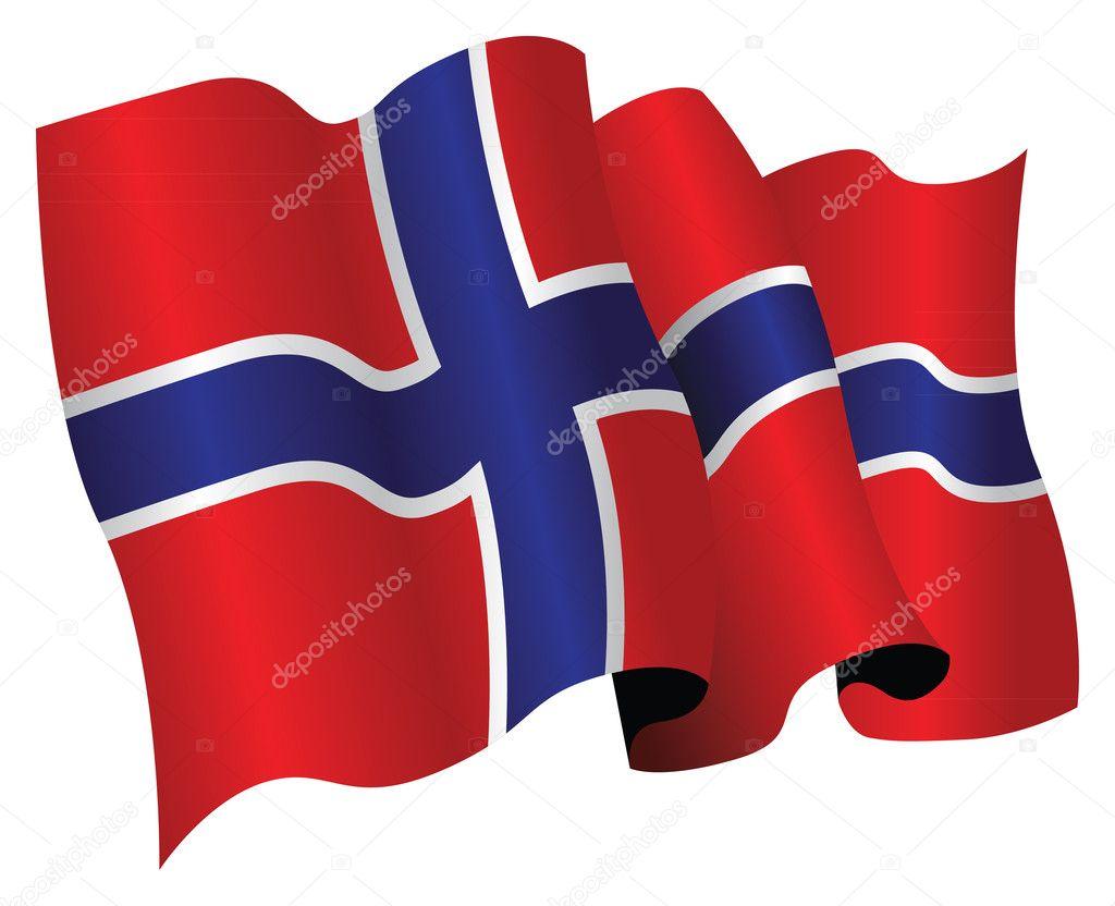 norway flag u2014 stock photo jameschipper 4524037