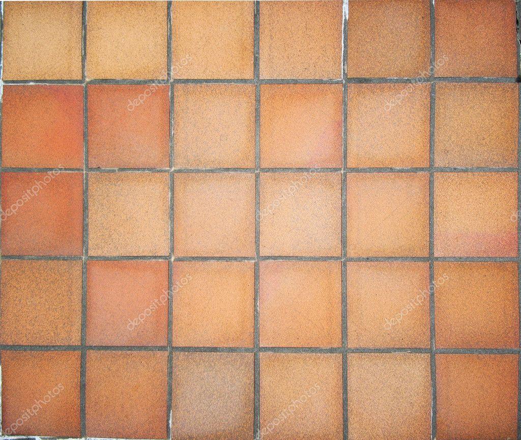 terracotta floor tiles u2014 stock photo