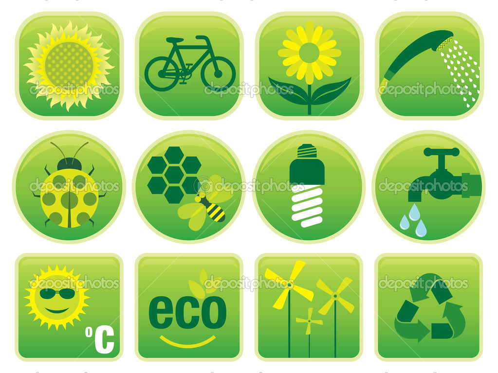 Ecology Environment Icons