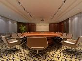 egy konferenciatermet, 3D-leképezés