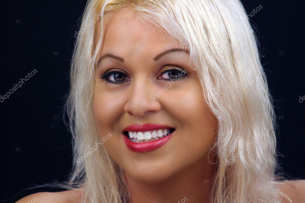 Beautiful Blonde Headshot 3 Stock Photo C Csproductions 4354412