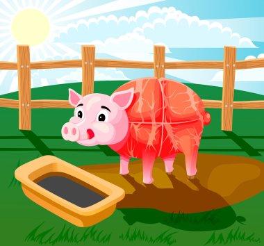 Pig sausage!