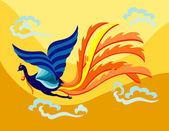 letící Fénix