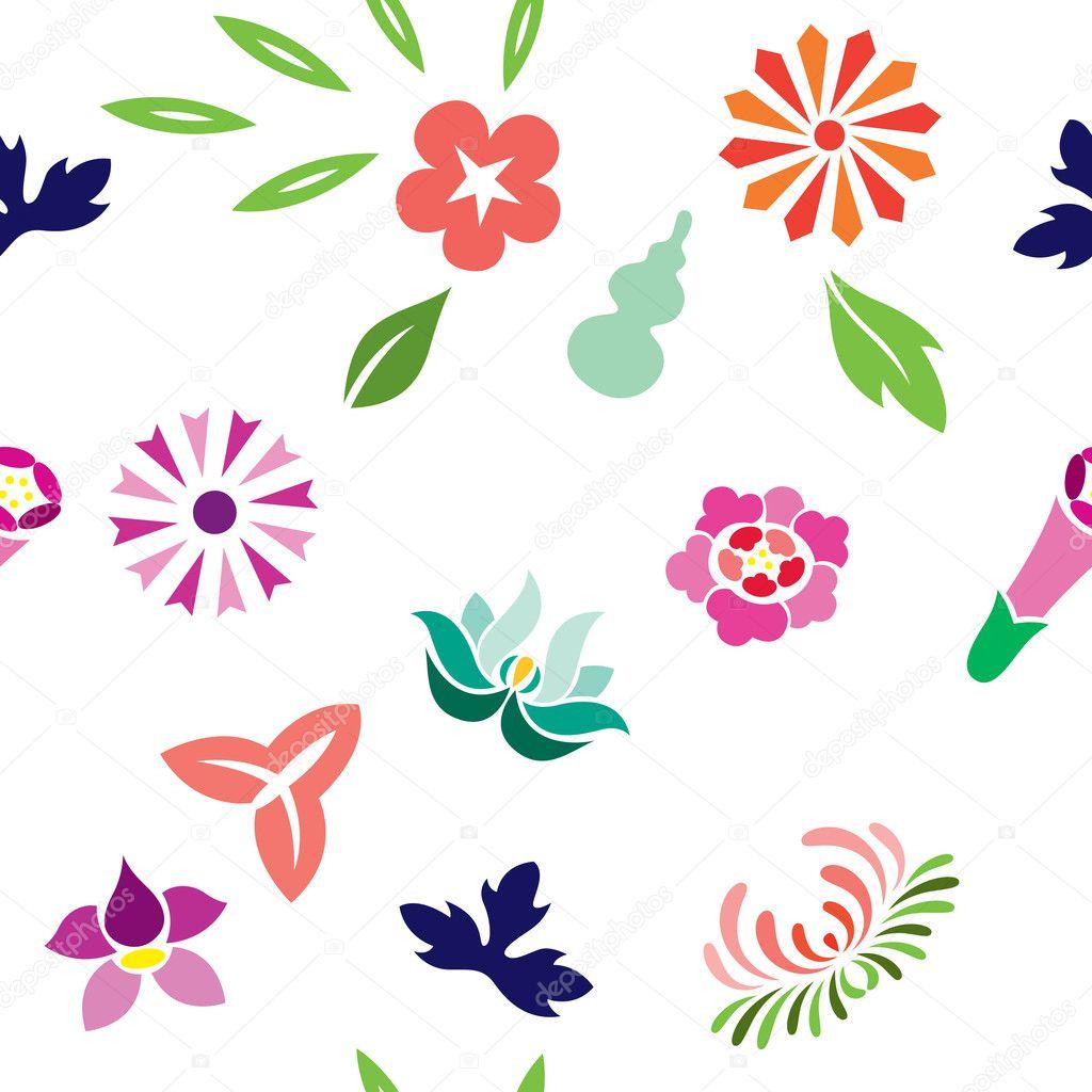 Japanese Spring Pattern
