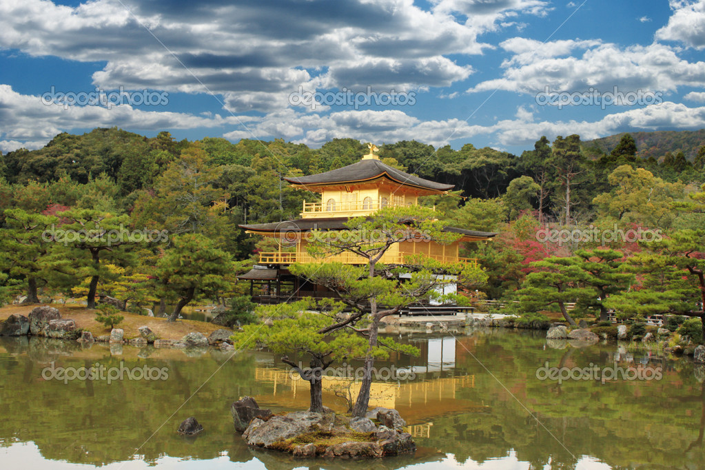 how to get to golden temple kyoto