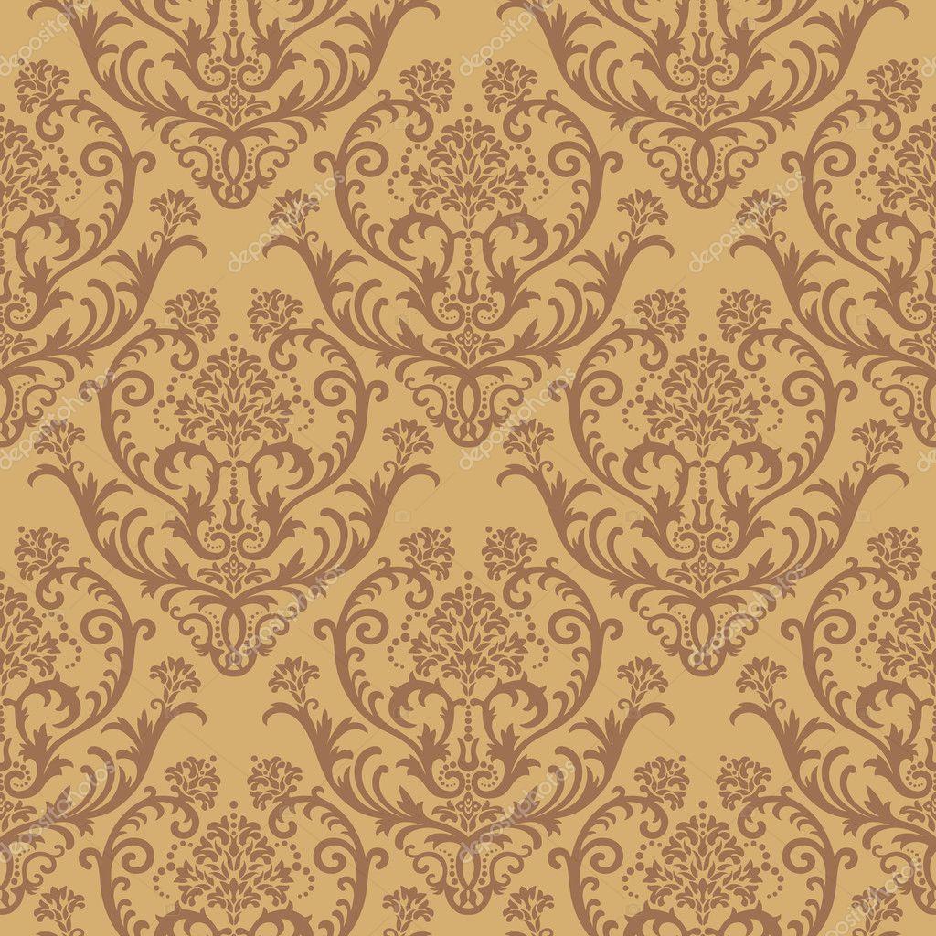 vector seamless renaissance wallpaper - photo #47