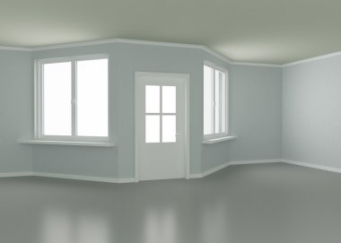 Room, door and windows