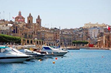 "Картина, постер, плакат, фотообои ""парковка на лодке у гозо. malta "", артикул 4482105"