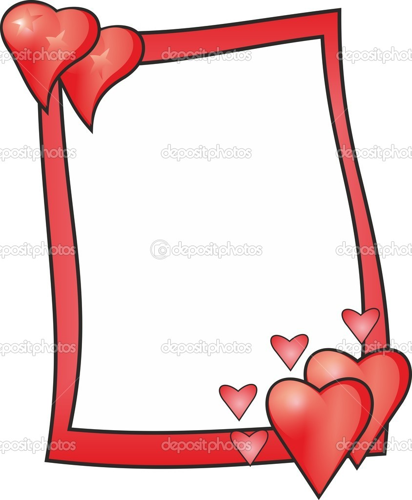 Love frames stock photo lina0486 4328275 a red frame with hearts for your beloved photo by lina0486 jeuxipadfo Gallery
