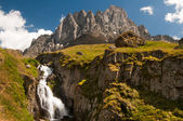 Chaukhebi hory v juta, kazbegi, Gruzie