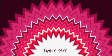 Patterned vector background