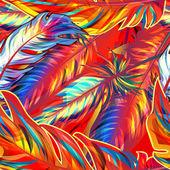 exotická peří