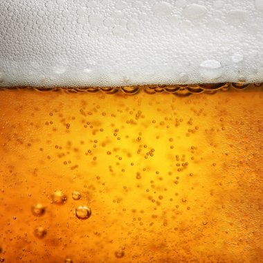 Close up photo of a glas Beer