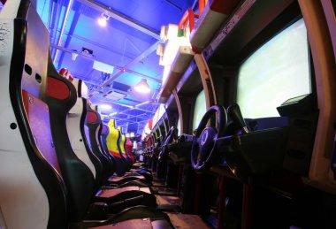 Car Arcade stock vector