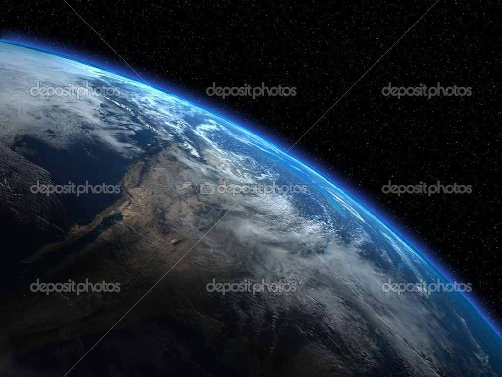 The beautiful planet Earth