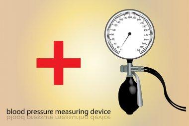 Blood pressure measuring device