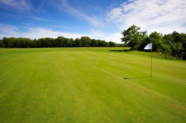Golf course on Bornholm Island