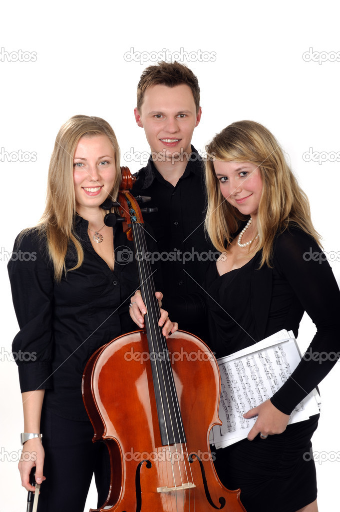 Young classic music trio
