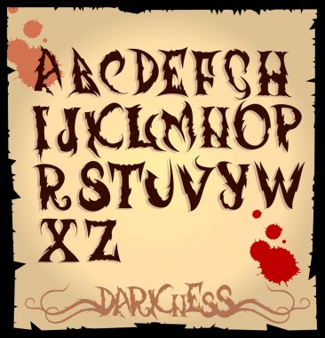 Scary letters