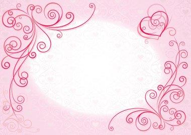 "Картина, постер, плакат, фотообои ""розовый фон"", артикул 4403684"