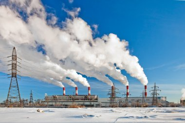 Heavy industrial pollution, environment problem