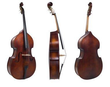 Three cello view