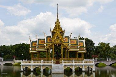 Bang Pa-In Palace Aisawan Thipya-Art Ayutthaya Thailand