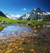 horské jezero
