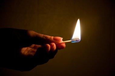 Match fire