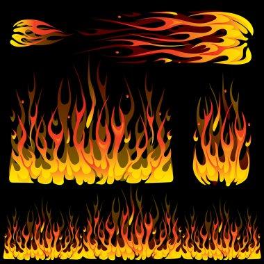 Burning fire