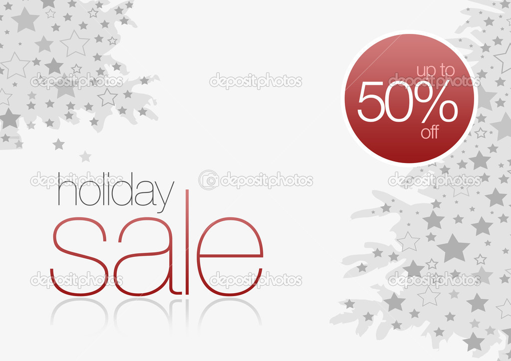 Holiday Sale Card 50% off