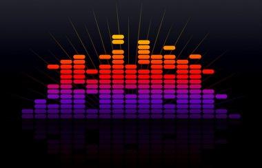 Digital music equalizer