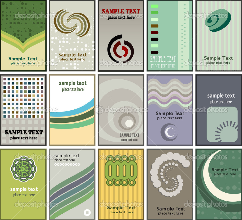 Business card designs stock photo kjpargeter 5045421 large collection of various different business card designs photo by kjpargeter magicingreecefo Image collections