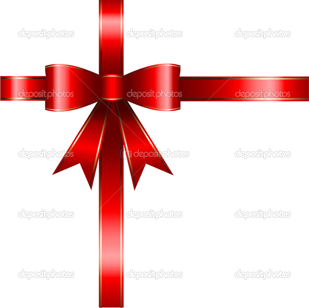 Gift background with red ribbon — Stock Photo © kjpargeter ...