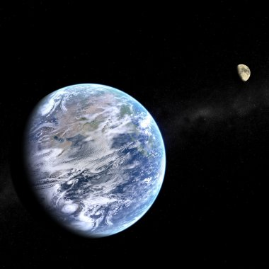 Earth and Moon System