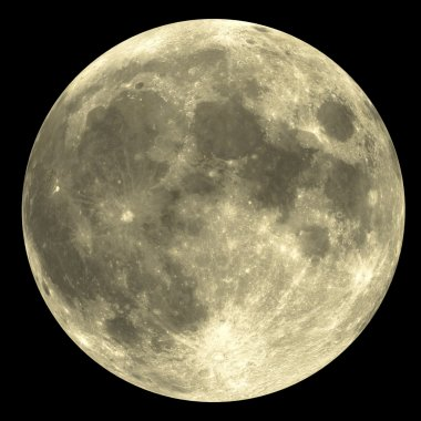 Full Moon - yellow