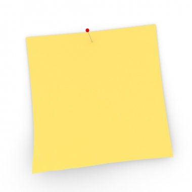 Post It - with small pin