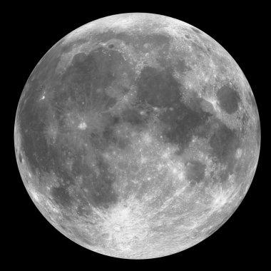 Full Moon - grey