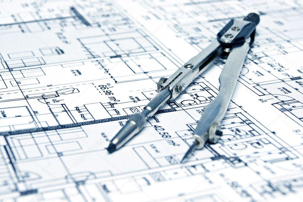 Engineering blueprint and tools stock photo gemini62 5361887 engineering blueprint and tools stock photo malvernweather Choice Image